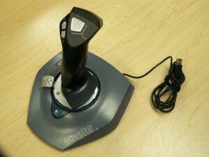 Joystick for flight simulator
