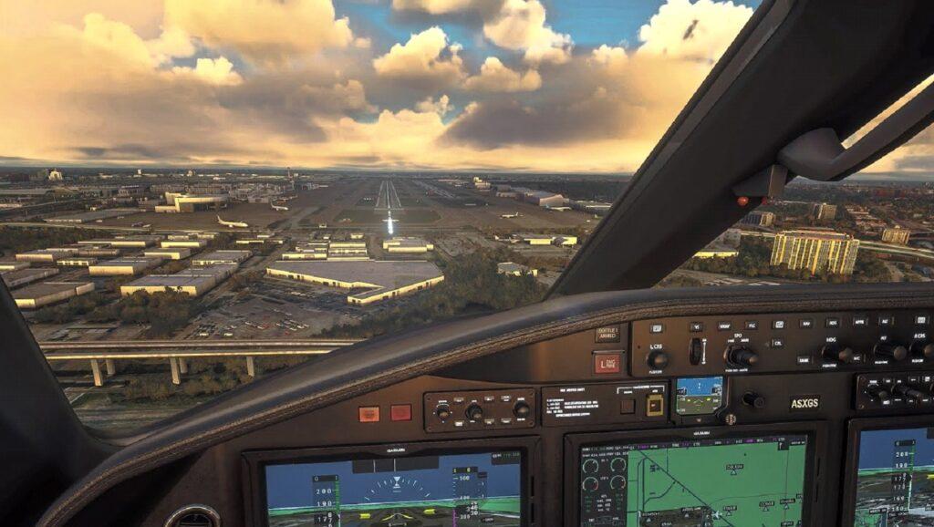 FS cockpit