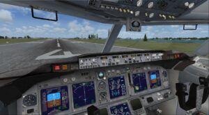 Boeing 737-800 virtual cockpit