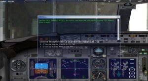 Air traffic control menu