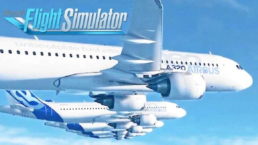 FS 2020 Airbus A321 jet