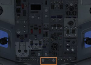 cockpit overhead panel