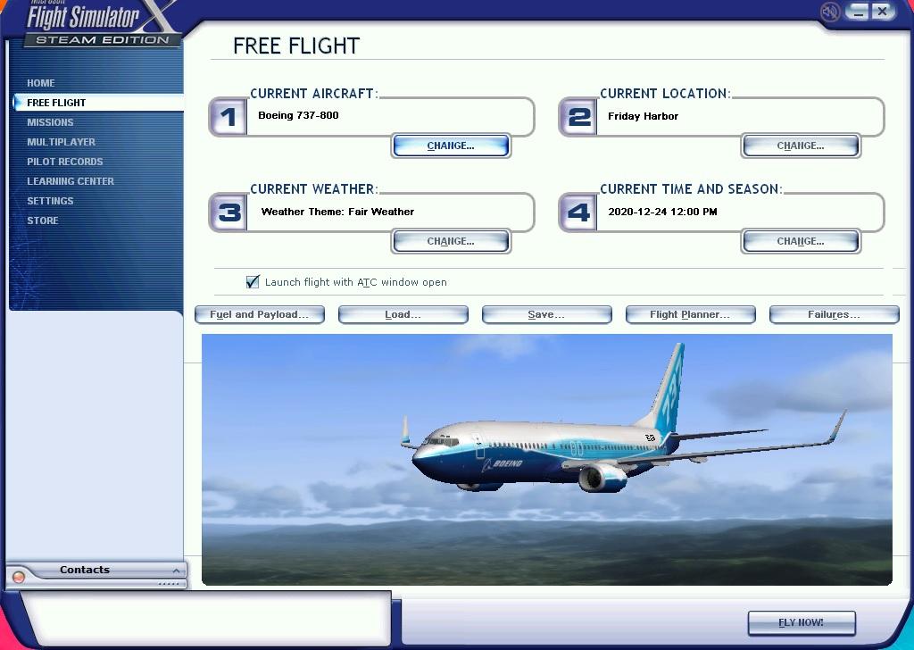 flight simulator program