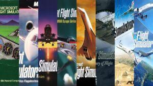 history of microsoft flight simulator