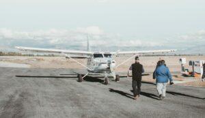 unpaved runway
