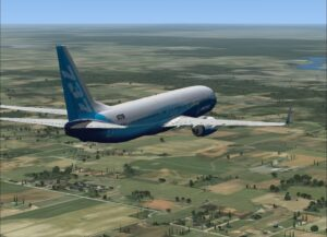 preparing for landing