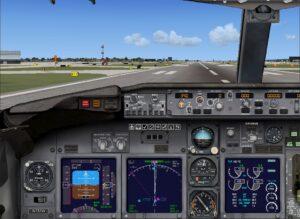 preparing for take off