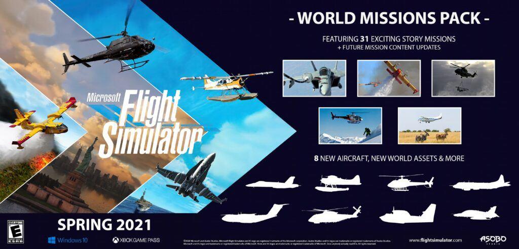 Microsoft Flight Simulator Missions