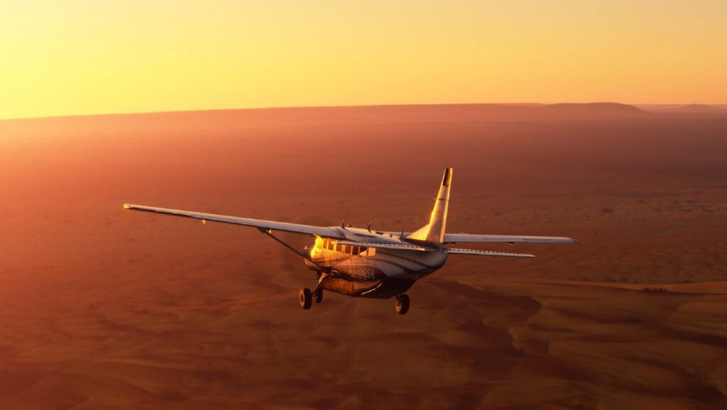 Cessna 172 in MSFS