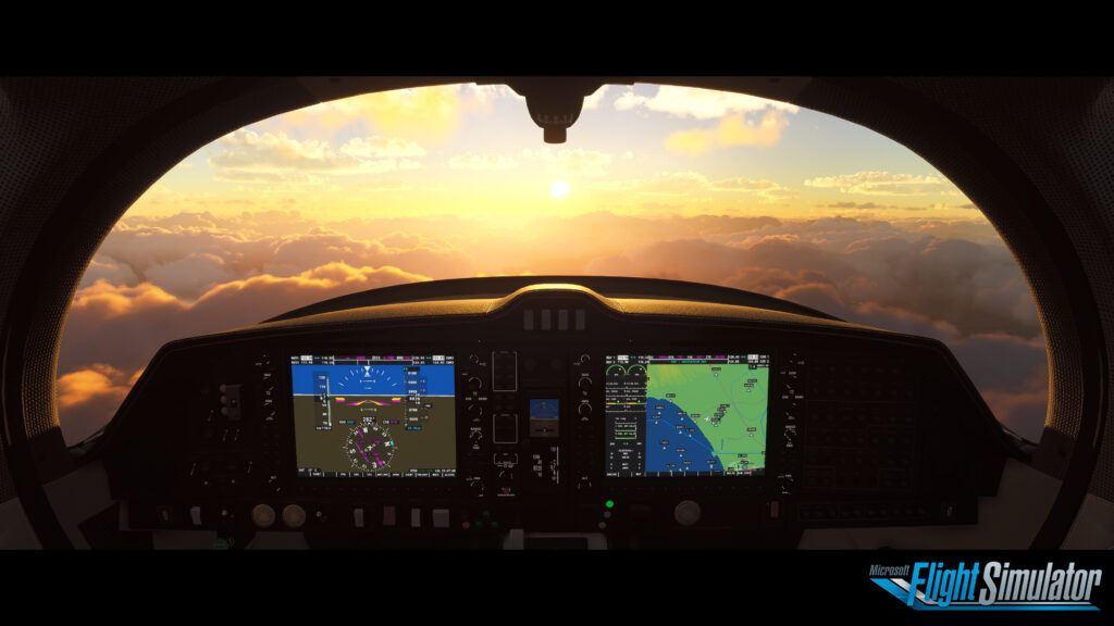 flight simulator 2020 gps