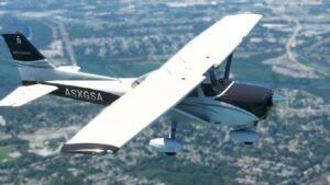 MSFS Cessna 172 aircraft
