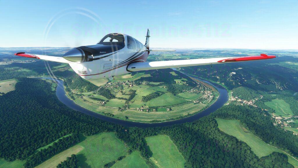 beechcraft flying