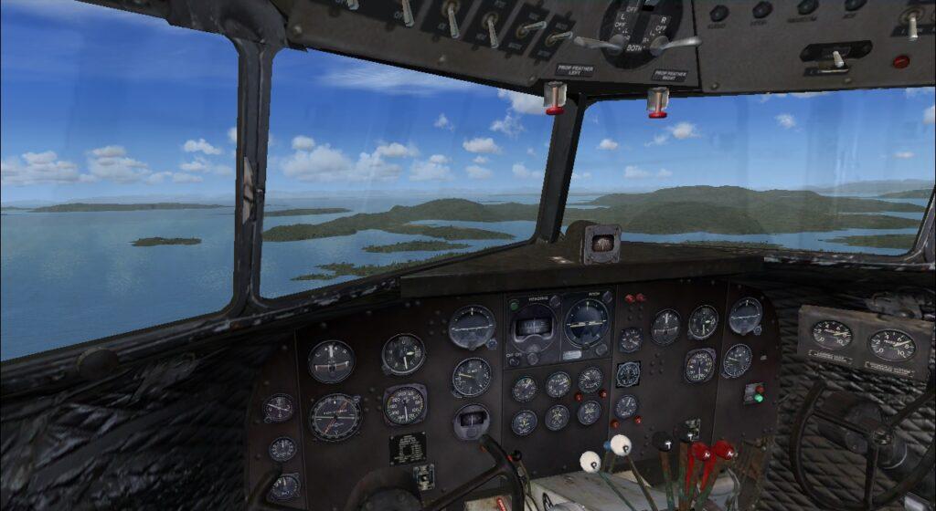douglas cockpit