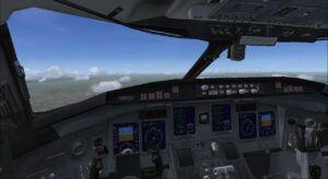 CRJ700 cockpit