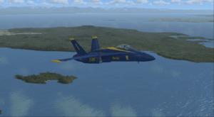 FSX jet