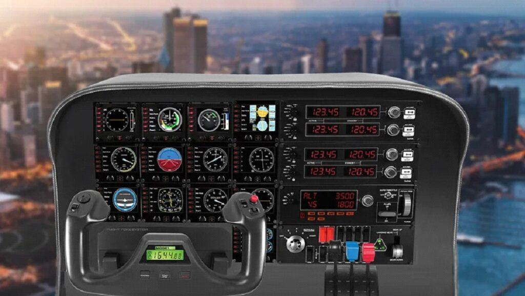 instrument panel for aircraft
