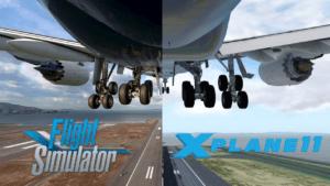 X plane 11 vs. Microsoft Flight Simulator 2020