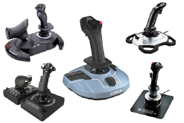 The joysticks